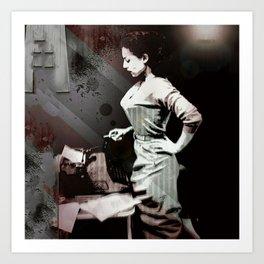 Vintage Erotica Dramatist Art Print