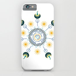 Seven Swans of Virtue iPhone Case