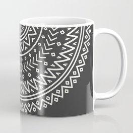 Mexico Rubino One World Red Yoga Hand Aztec Coffee Mug
