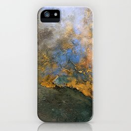Colorful Abstract Clouds No.2 (V) iPhone Case