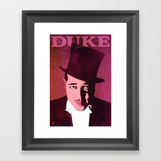 Duke Ellington Framed Art Print