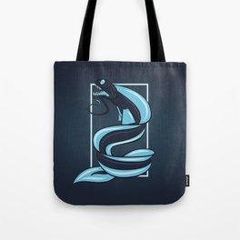 Improvisations on a Dragonfish Tote Bag