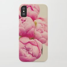 Blush Peonies  iPhone X Slim Case