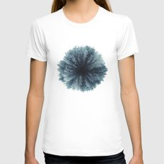 Forest world White Womens Fitted Tee X-LARGE