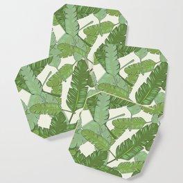 Banana Leaf Print Coaster
