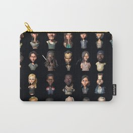 TWD Characters Carry-All Pouch