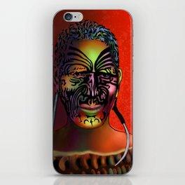 Maori Warrior 3 iPhone Skin