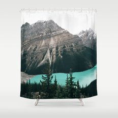 Peyto Lake II Shower Curtain