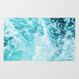 Perfect Sea Waves Rug