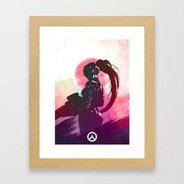 widowmaker poster Framed Art Print