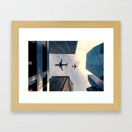 Business Travel Framed Art Print