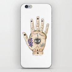 Texas Palmistry iPhone & iPod Skin