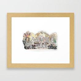 Thumbelina's house! Framed Art Print