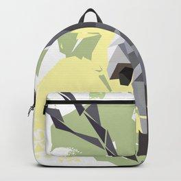 Koala Low Poly Digital Art Print Backpack