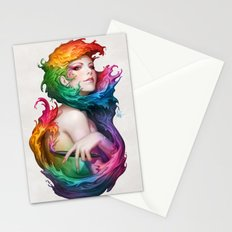 Angel of Colors Stationery Cards