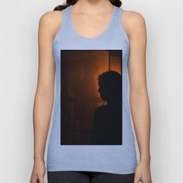 Portrait of a boy and girl Unisex Tank Top