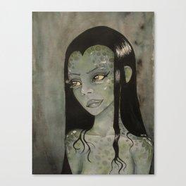 Swamp Woman Canvas Print
