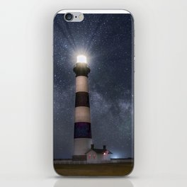 Bodie Island Lighthouse with Milky Way Core iPhone Skin