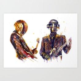 DAFTPUNK III Art Print