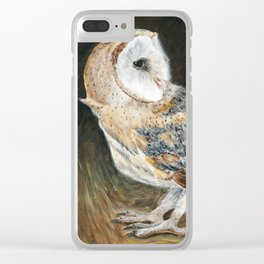 The Night Hunter by Teresa Thompson Clear iPhone Case