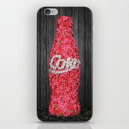 Flower Coke iPhone Skin