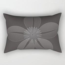 Cute Sheer Jasmin Flower Rectangular Pillow