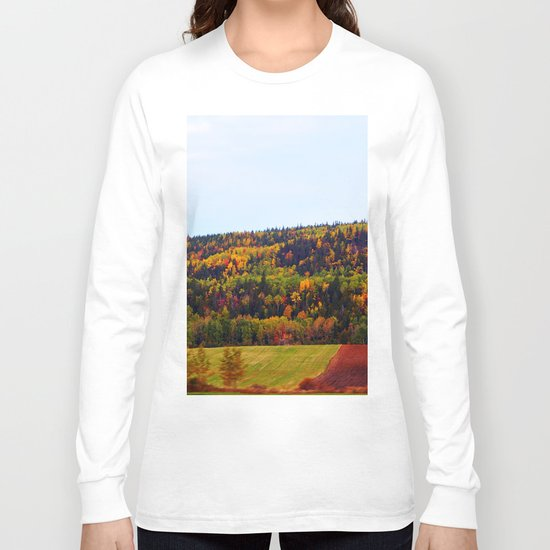 Fall Harvest and the Hills Long Sleeve T-shirt