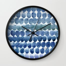 Color Jewels No 12 by Kathy morton Stanion Wall Clock