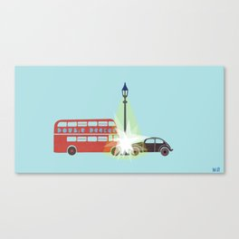 There is a Light Canvas Print
