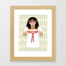Queen Cleopatra Framed Art Print