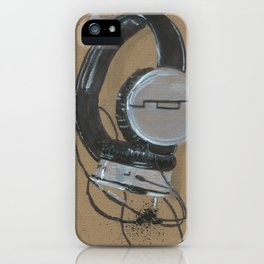 Sol Republic Headphones - These are the things I use to define myself iPhone Case