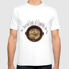 The special taste of Gandelli's meat Mens Fitted Tee White SMALL