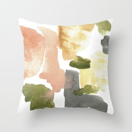 Great New Heights Abstract Throw Pillow