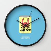 tintin Wall Clocks featuring BACHI-BOUZOUK (Les aventures de Tintin) by COMME UNE AFFICHE AU MUR
