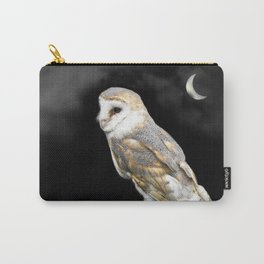 The Owl and the Moon Carry-All Pouch