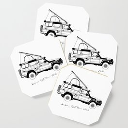 Limted Edition 4xOverland Troopy Coaster