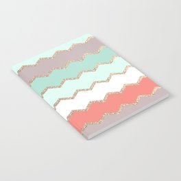 AVALON CORAL MINT Notebook