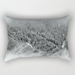Misty Forest Rectangular Pillow