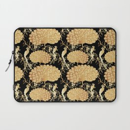 golden peacock Laptop Sleeve