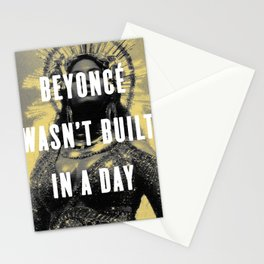 Bey Wasn't Built In A Day Stationery Cards