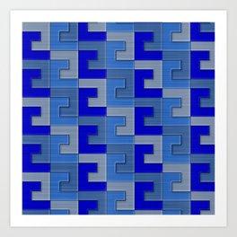 Geometrix XCI Art Print