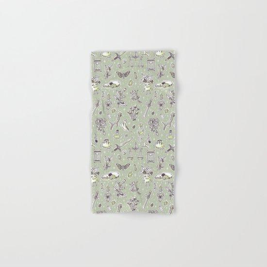 Witchcraft Pattern Hand & Bath Towel