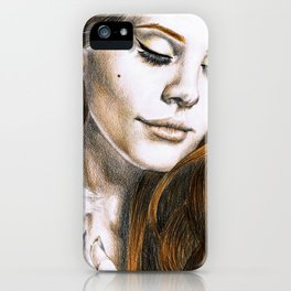 Lana DelRey iPhone Case