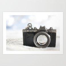 little camera Art Print