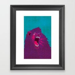 Voice of Thunder Framed Art Print