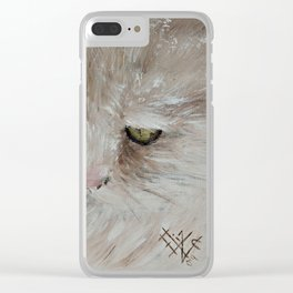 Zigne - The Philosopher Clear iPhone Case
