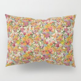FLORAL // LIFE OF FLOWERS Pillow Sham