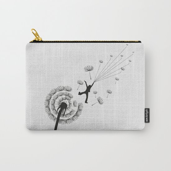 Free Dandelion Carry-All Pouch