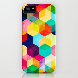 Hexa iPhone Case