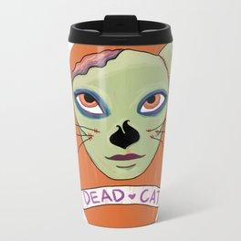 Crazy Cat Lady Metal Travel Mug